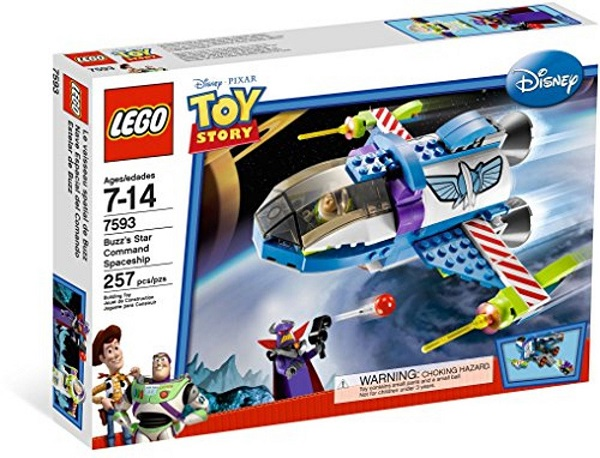LEGO 7593 Buzz's Star Command Spaceship - Toy Story Set