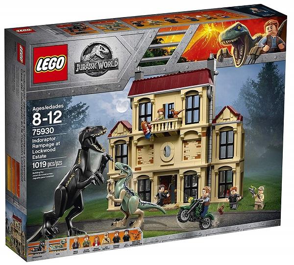LEGO 75930 Indoraptor Rampage at Lockwood Estate - Best LEGO Jurassic World Sets