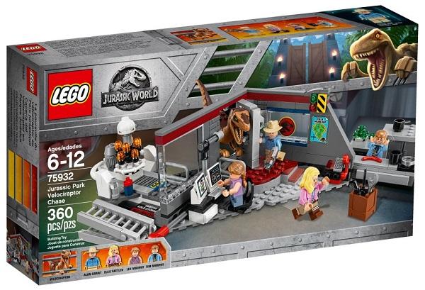 LEGO 75932 Velociraptor Chase - Best LEGO Jurassic World Sets