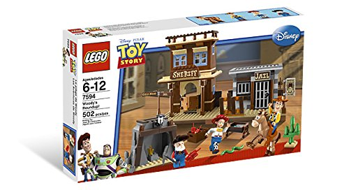 LEGO 7594 Woody's Roundup! - Toy Story Set