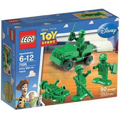LEGO 7595 Army Men on Patrol - Toy Story Set