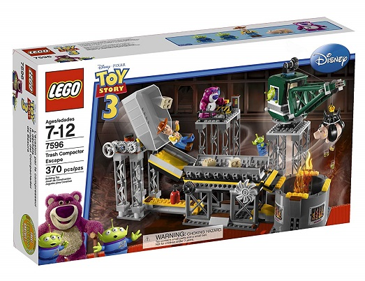LEGO 7596 Trash Compactor Escape - Toy Story 3 Set