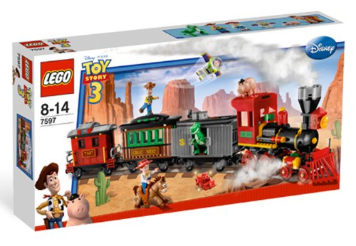 LEGO 7597 Western Train Chase - Toy Story 3 Set