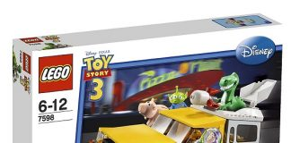LEGO 7598 Pizza Planet Truck Rescue - Toy Story 3 Set