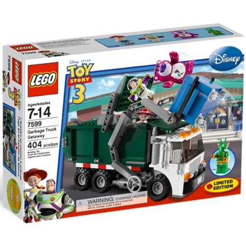LEGO 7599 Garbage Truck Getaway - Toy Story 3 Set