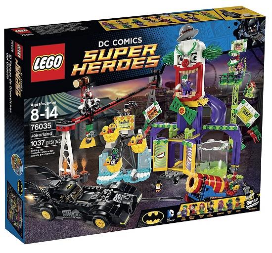 LEGO 76035 Jokerland - Best LEGO Batman Movie Sets DC