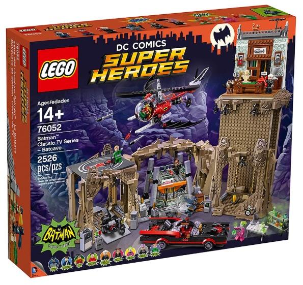 LEGO 76052 Classic TV Series Batcave - Best LEGO Batman Sets DC Comics Super Heroes