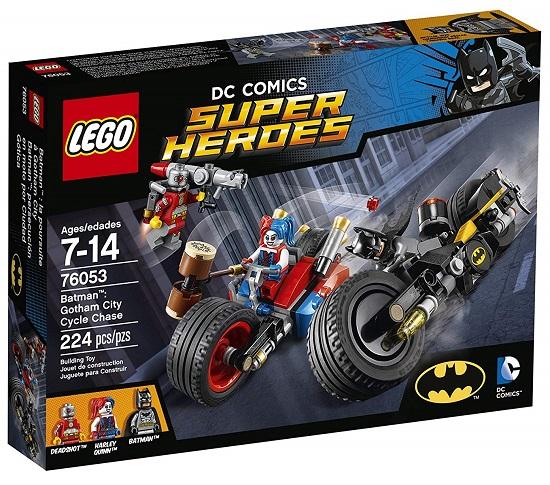 LEGO 76053 Gotham City Cycle Chase - Best LEGO Batman Sets DC Comics