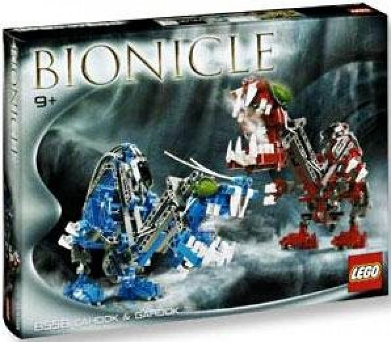 LEGO 8558 Cahdok and Gahdok - Best LEGO BIONICLE Sets