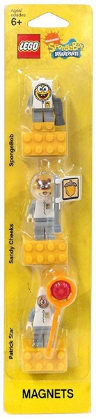 LEGO Spongebob Spacesuit Magnet Set