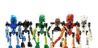 LEGO Toa Mata 8531, 8532, 8533, 8534, 8535 and 8536 - Best LEGO BIONICLE Sets