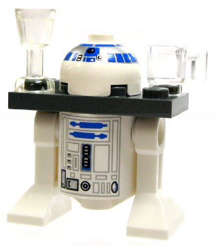 R2-D2 Serving Tray Version (2006 variant) - LEGO Star Wars Astromech Droid