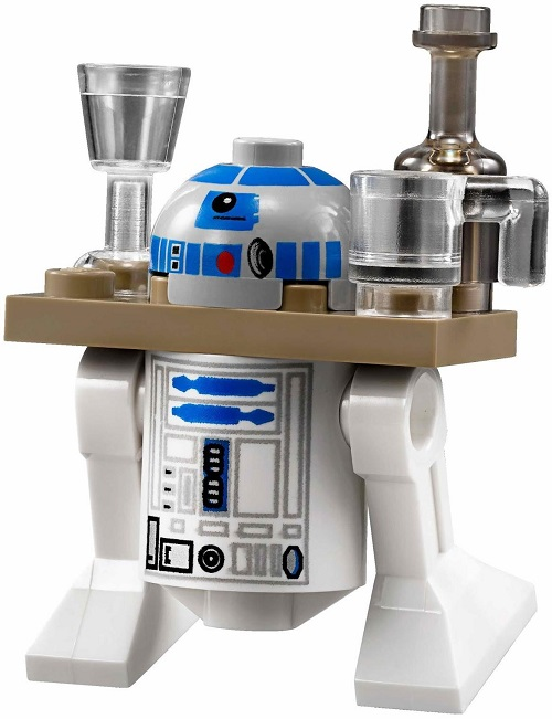 R2-D2 Serving Tray Version (2013 variant) - LEGO Star Wars Astromech Droid