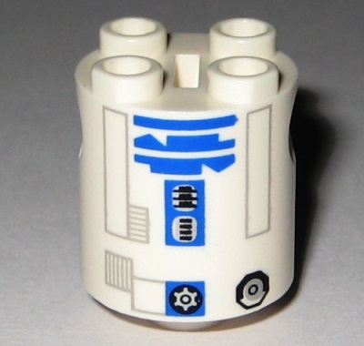 R2-D2 (Updated 2008 variant) - LEGO Star Wars Astromech Droid 2