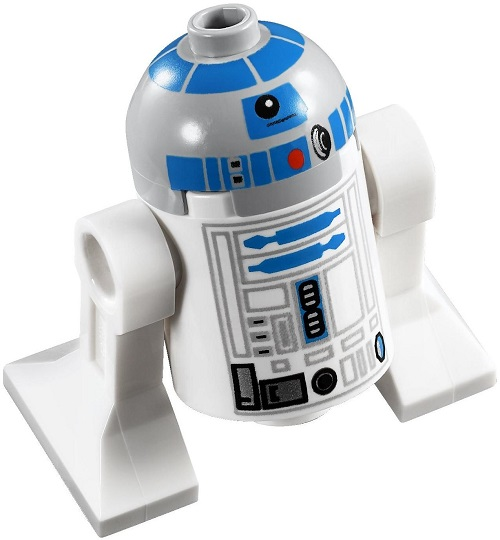 R2-D2 (Updated 2008 variant) - LEGO Star Wars Astromech Droid