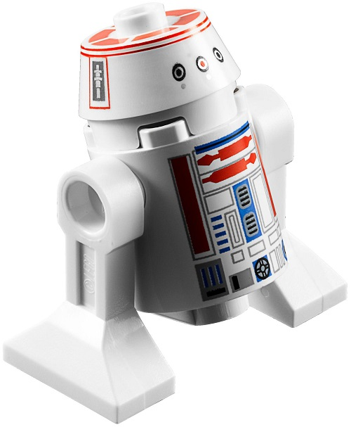 R5-D8 or R5-D4 (updated version) - LEGO Star Wars Astromech Droid