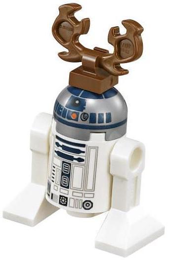 Reindeer R2-D2 - LEGO Star Wars Astromech Droid