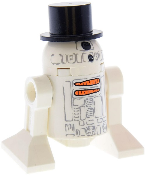 Snowman R2-D2 - LEGO Star Wars Astromech Droid