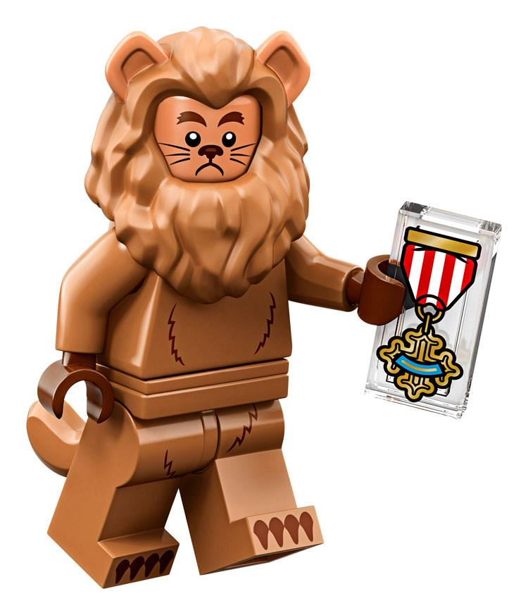The Cowardly Lion - The LEGO Movie 2 Minifigures Series CMF Character