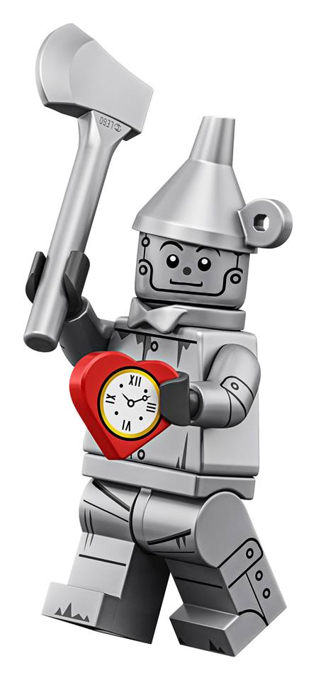 The Tin Man - The LEGO Movie 2 Minifigures Series CMF Character