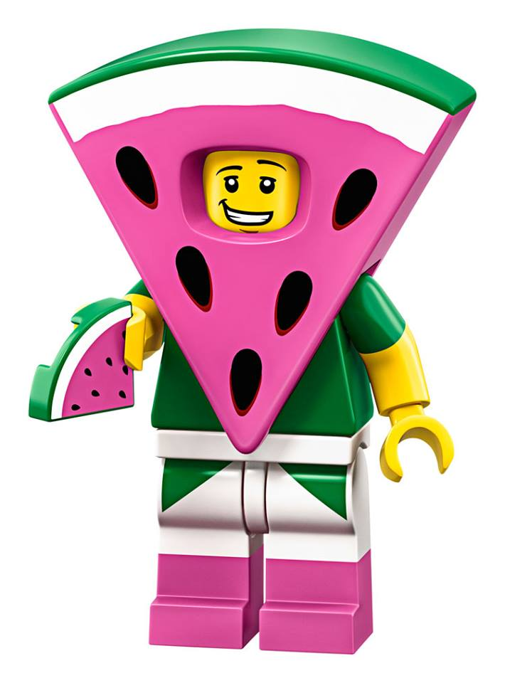Watermelon Suit Guy - The LEGO Movie 2 Minifigures Series CMF Character