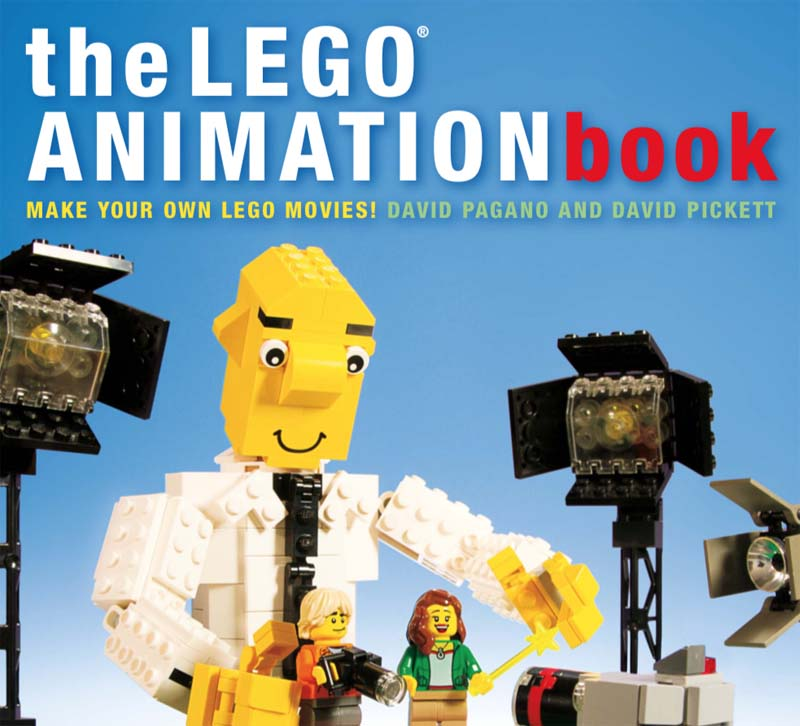 The LEGO Animation Book Cover