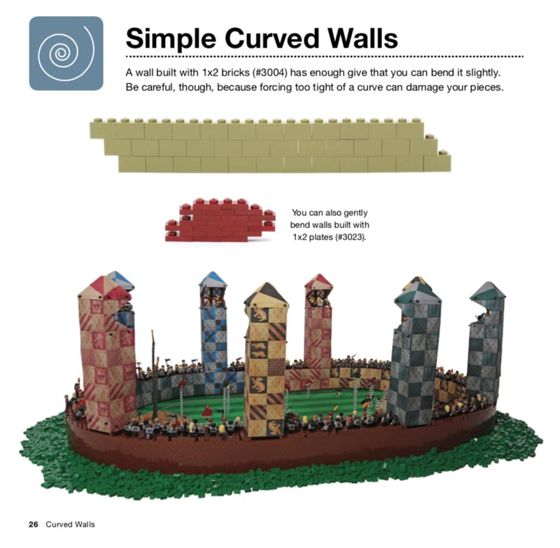 The LEGO Architecture Book Curved Walls Illustration
