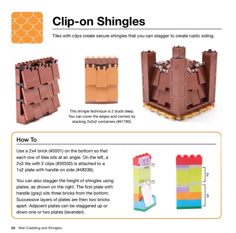 LEGO Architecture Idea Book Clip-on Shingles