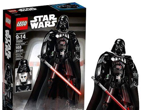 Darth Vader 75534 - LEGO Best Star Wars Buildable Figures