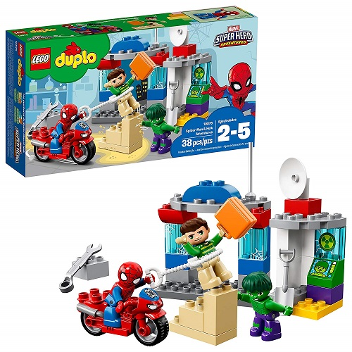 LEGO Duplo LEGO Super Heroes Spider-Man & Hulk Adventures 10876 Set - Best LEGO Duplo Sets
