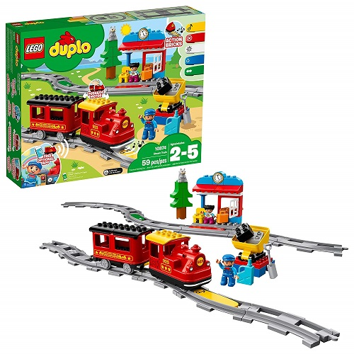 LEGO Duplo Steam Train Remote-Control Set 10874 - Best LEGO Duplo Set