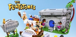 LEGO Ideas Flintstones Set Preview
