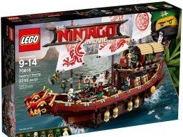 Best LEGO Ninjago Sets - 70618 Destiny's Bounty