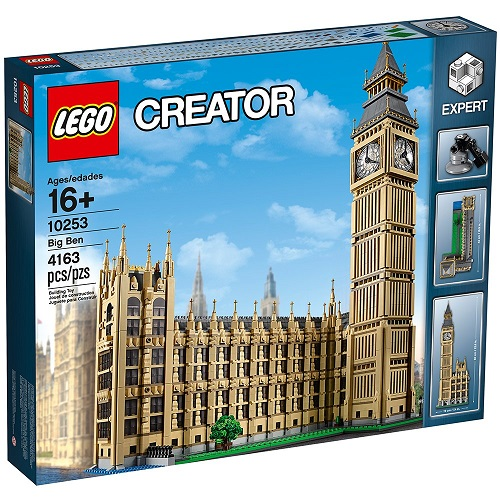 Biggest LEGO Creator Sets Creator Expert Big Ben 10253
