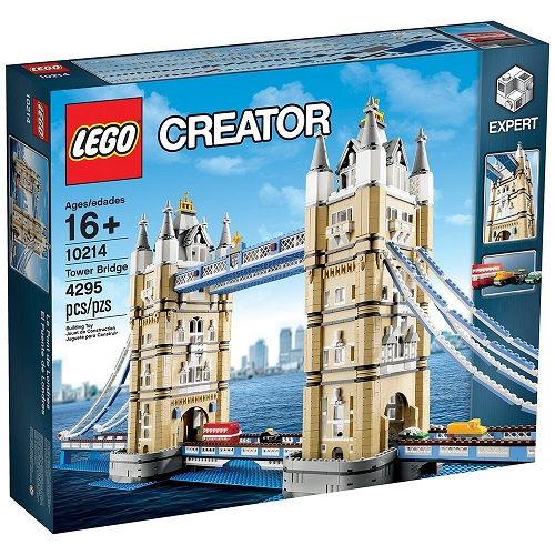 Biggest LEGO Creator Sets Tower Bridge 10214