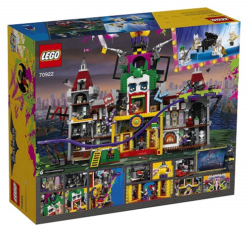 Biggest LEGO Movie Sets Batman Movie DC The Joker Manor 70922
