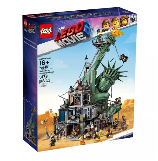 Biggest LEGO Movie Sets Welcome to Apocalypseburg! 70840