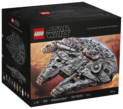 Biggest LEGO Star Wars Sets Ultimate Millennium Falcon 75192