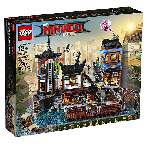 Biggest Ninjago LEGO Sets NINJAGO MOVIE City Docks 70657