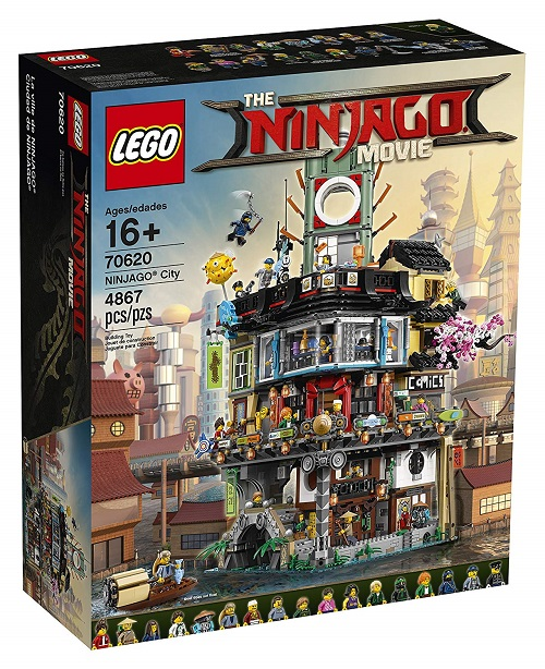 Biggest Ninjago LEGO Sets Ninjago City 70620