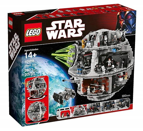 Biggest Star Wars LEGO Sets Death Star 10188
