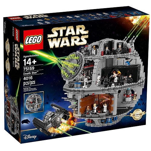 Biggest Star Wars LEGO Sets Death Star 75159