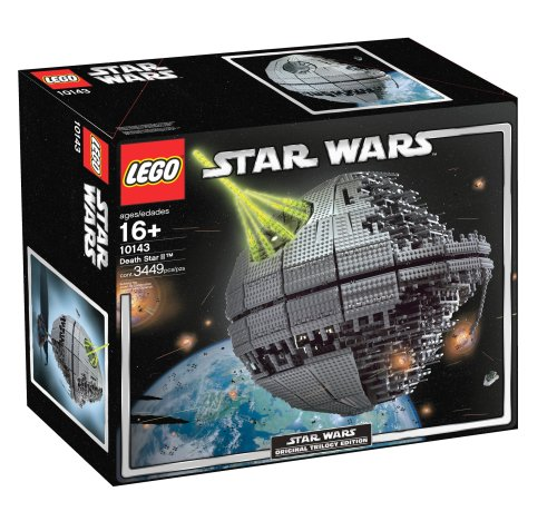 Biggest Star Wars LEGO Sets Death Star II 10143