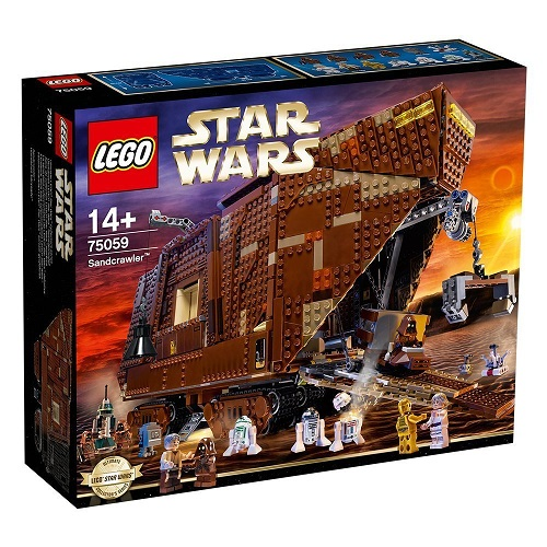 Biggest Star Wars LEGO Sets Sandcrawler 75059