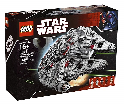 Biggest Star Wars LEGO Sets Ultimate Collector's Edition Millennium Falcon (2007) 10179
