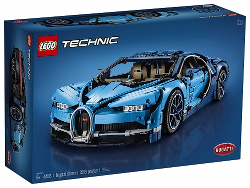 Biggest Technic LEGO Sets Bugatti Chiron 42083