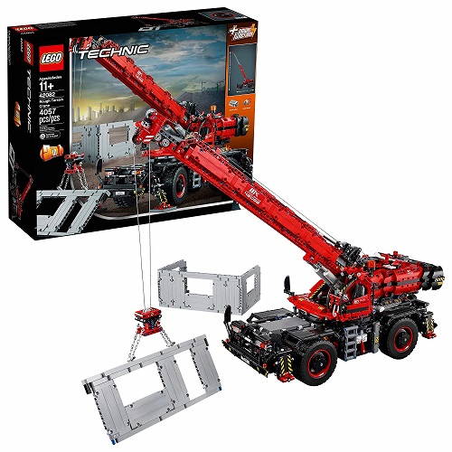 Biggest Technic LEGO Sets Rough Terrain Crane 42082