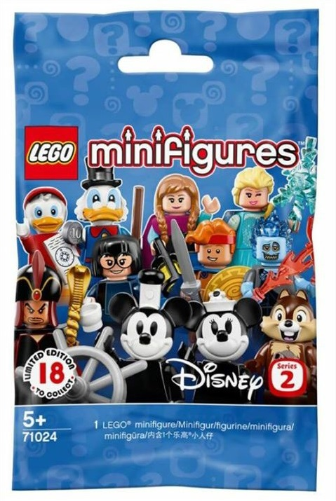 Disney Minifigures Series 2 71024 Polybag Packet Front Cover