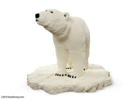 Sean Kenney LEGO Polar Bear Close Up