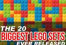 The 20 Biggest LEGO Sets Ever Released